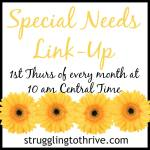 Special Needs Link Party – Aug 4 '16